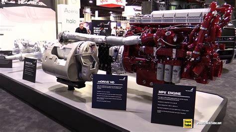 mack trucks drivetrain  mp diesel engine