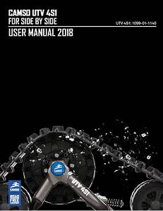 Camso Atv  U0026 Utv Owners Manuals  U0026 Adjustment Guides