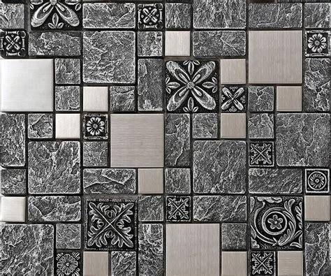 stainless steel kitchen wall tiles stainless steel backsplash kitchen ceramic wall tiles b965 8285