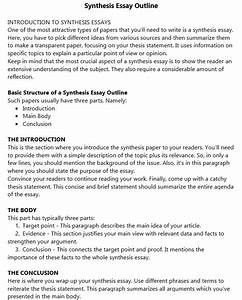 Synthesis Essay  Basic Guide With Examples
