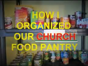 Starting A Food Pantry At Your Church How I Organized Our Church Food Pantry