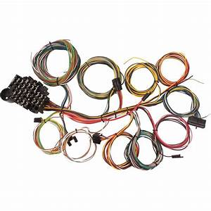 22 Circuit Universal Street Rod Wiring Harness W  Detailed
