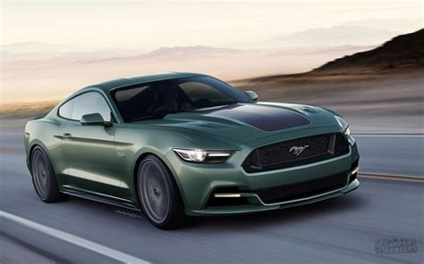 Ford Mustang by New Tuning Renders For 2015 Ford Mustang Carscoops