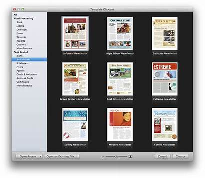 Pages Mac Newsletter Templates Create Holiday Template