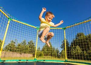 Children are at a high risk of injury when they jump on ...