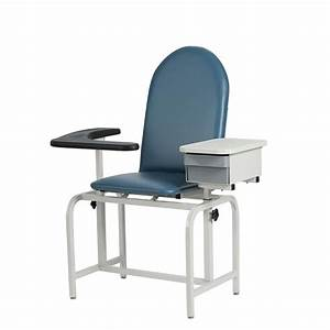 Winco Padded Blood Drawing Chair With Drawer Phlebotomy