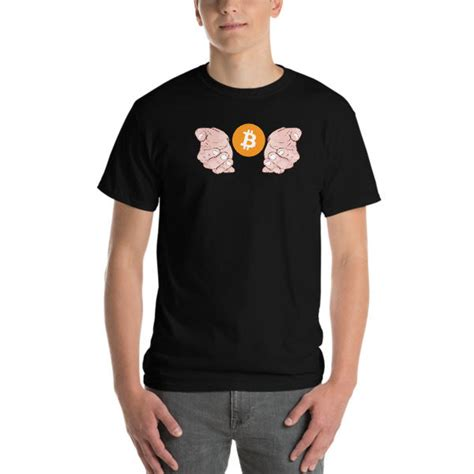 Not weak hands, strong hands that know how to hodl your crypto. Strong Hands Bitcoin T-Shirt - CryptoApollo - Crypto | Apparel