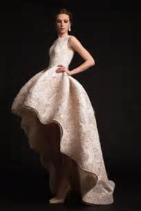 wedding dresses high low the new look high low wedding dresses are wow onefabday uk
