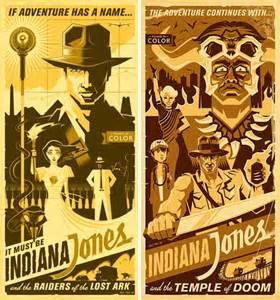 Classic Movie Posters Indiana Jones