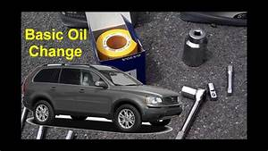 How To Do A Basic Oil Change On The Volvo Xc90
