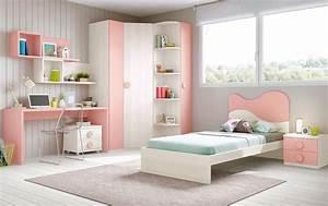 Chambre Fille Ado : chambre fille princesse avec lit 1 personne glicerio so nuit ~ Teatrodelosmanantiales.com Idées de Décoration