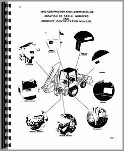 Case 580c Tractor Loader Backhoe Parts Manual
