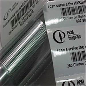 overlaminate imagetek labels With clear label stock