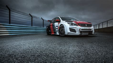 Peugeot 308 Tcr 2018 4k Wallpapers