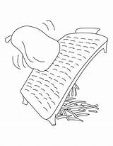 Stove Coloring Template Pages Grater sketch template