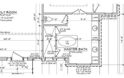 Bathroom Floor Plans Walk In Shower by Master Bathroom Floor Plans With Walk In Shower Design