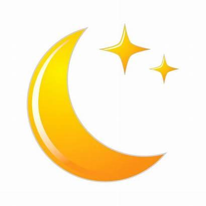Moon Clipart Icon Crescent Lune Ramadan Transparent