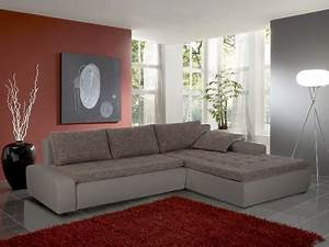 Kunstleder Ecksofa : ecksofa alisa 300x210cm webstoff braun beige kunstleder ~ Pilothousefishingboats.com Haus und Dekorationen
