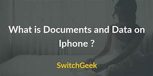 What is documents and data on iphone delete clear 2018 for Documents and data iphone 2018