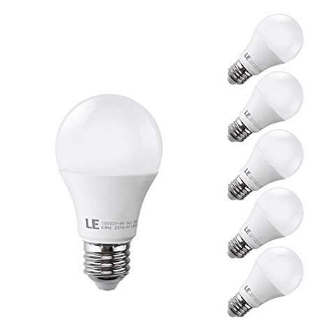 le 174 10w a19 e26 led light bulbs brightest 60w incandescent b
