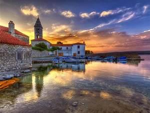 Nerezine, Mali, Losinj, Croatia, Sunset, Landscape, Photography, 4k, Ultra, Hd, Tv, Wallpaper, For, Desktop