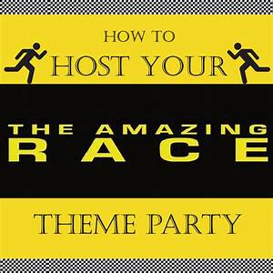 amazing race party ideas With amazing race birthday party templates