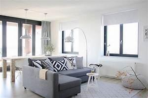 Deco Bois Et Blanc : d co salon gris blanc bois en 35 id es pour revitaliser votre int rieur ~ Melissatoandfro.com Idées de Décoration
