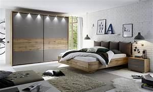 Komplettes Schlafzimmer Kaufen : schlafzimmer 5 teilig mit led beleuchtung modell ~ Watch28wear.com Haus und Dekorationen