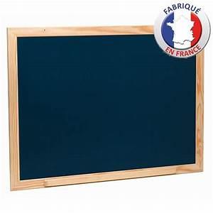 Grand Tableau Blanc : grand tableau noir en bois 88cm x 66cm achat vente ~ Teatrodelosmanantiales.com Idées de Décoration
