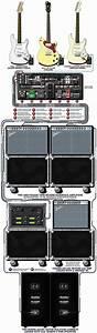 A Detailed Gear Diagram Of Hershel Yatovitz U0026 39 S Chris Isaak And The Silvertones U0026 39  Stage Setup That