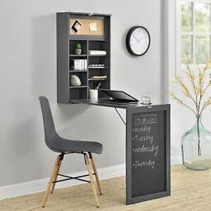 Schreibtisch Klappbar Wand : wandtisch grau schreibtisch tisch regal wand klapptisch aus klappbar ebay ~ Watch28wear.com Haus und Dekorationen
