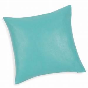 Housse De Coussin Bleu : housse de coussin en bleu turquoise 40 x 40 cm lader ~ Dailycaller-alerts.com Idées de Décoration