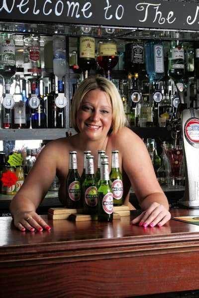 staff   gravesend pub bare   naked charity calendar