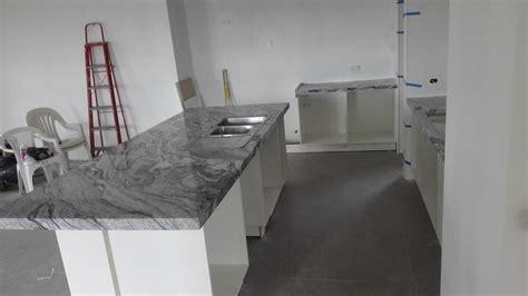 verona white granite kitchen installation granite
