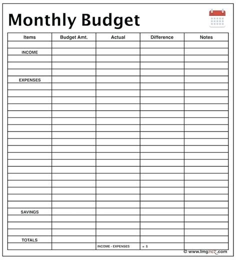 monthly income spreadsheet intended  spreadsheet