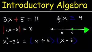 Introductory Algebra For College Students - Math Review