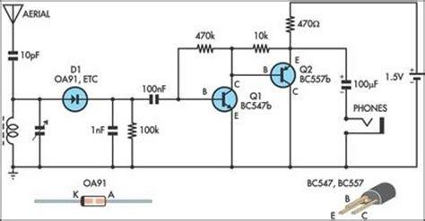 Radio Circuits Blog Simple Receiver
