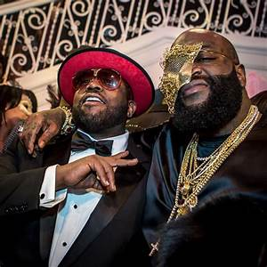 Rick Ross Celebrates His Birthday With Meek Mill, Usher ...