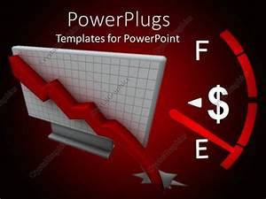 Powerpoint Template  A Gauge With A Dollar Sign