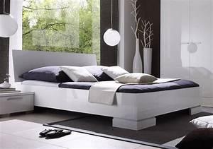 Lit Blanc Adulte : formidable chambre complete adulte pas cher moderne 9 lit blanc laque design bellissima zd1l ~ Teatrodelosmanantiales.com Idées de Décoration