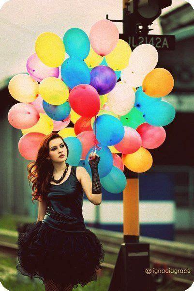 images  girl holding balloon  pinterest