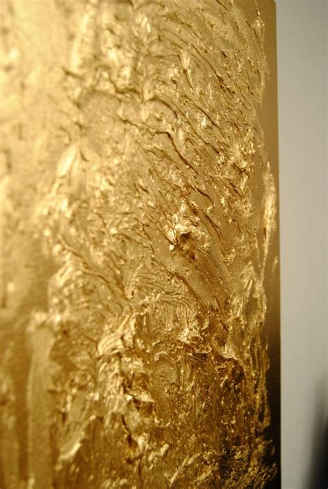 textured gold painting thick paints  spray paint