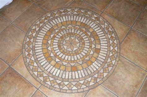 mosaic tile entry