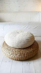 Pouf En Osier : alseda pouf fibres de bananier furnitures sofa armchairs chairs pinterest grands ~ Teatrodelosmanantiales.com Idées de Décoration