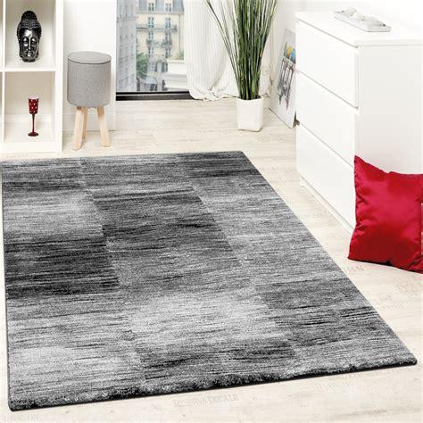 wohnzimmer teppich karo meliert grau teppichcenter