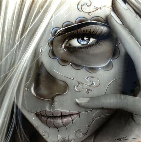 mexikanische tattoos vorlagen schulter schulter catrina mexikanische kunst und mexikanisches