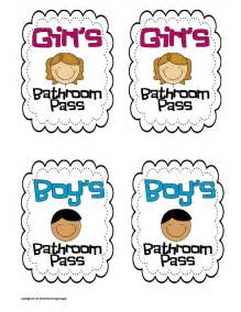 bathroom pass ideas 7 best images of printable for bathroom passes students