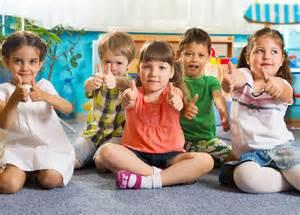 ndf opens new school of in the oblacina 240 | children kindergarten thumbs up