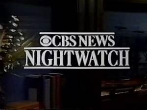 CBS News Nightwatch Open January 21, 1991 - YouTube