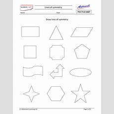 Maths  Lines Of Symmetry By Areach  Teaching Resources